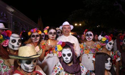 Festival de las Ánimas detona economía y turismo en Mérida