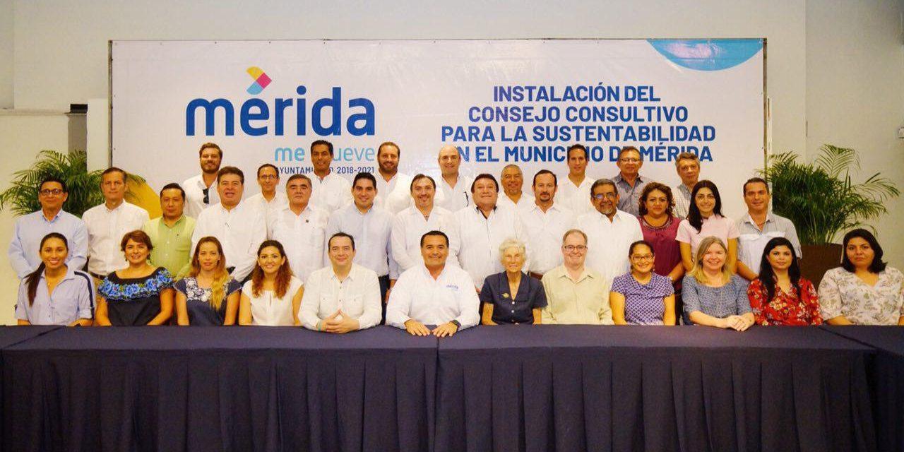 Tiene Mérida Consejo Consultivo para la Sustentabilidad en el Municipio