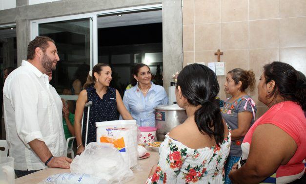 DIF Mérida apoya albergue El Buen Samaritano