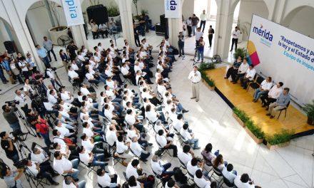 Renán Barrera pide a inspectores municipales honestidad y eficiencia