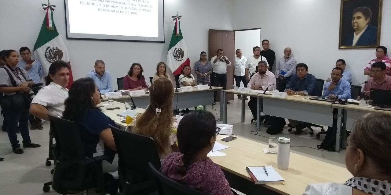 Comisión Especial recorrerá mega granja porcícola en Homún