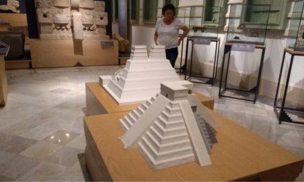 Alberga Museo Palacio Cantón exposición sobre pirámides prehispánicas