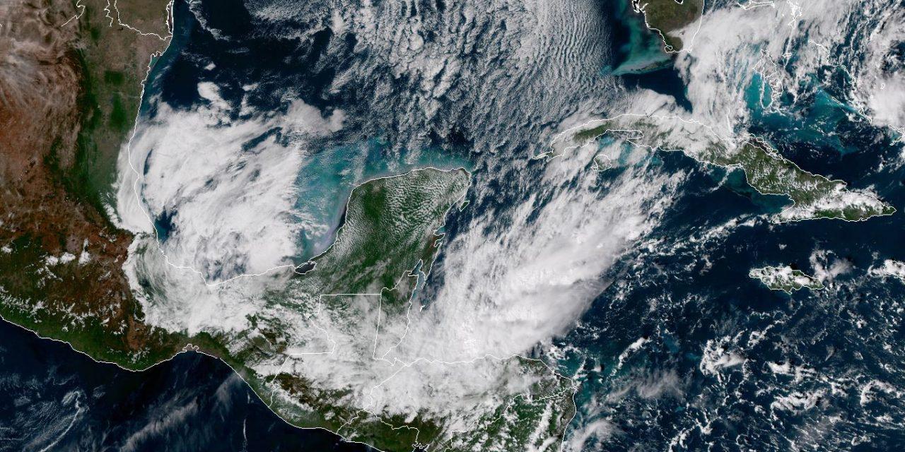Paulatino retiro de efectos de frente frío en Península de Yucatán