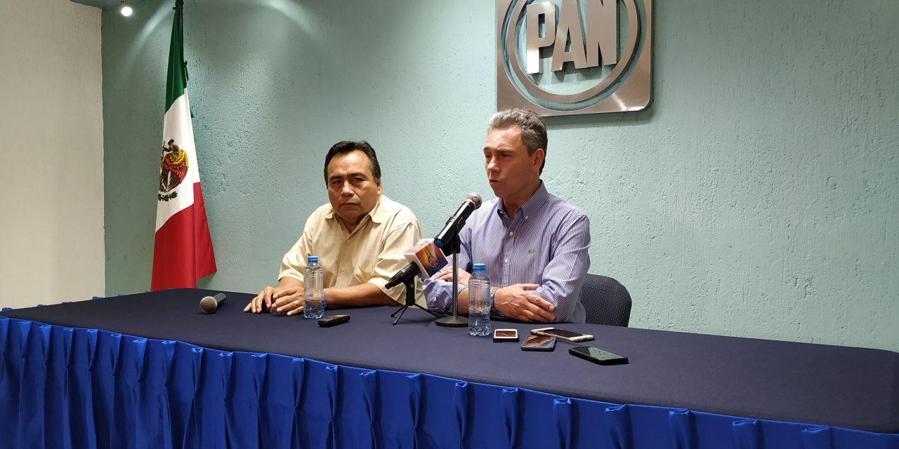 Gómez Morín en contra de amenazas y coacción en interna panista