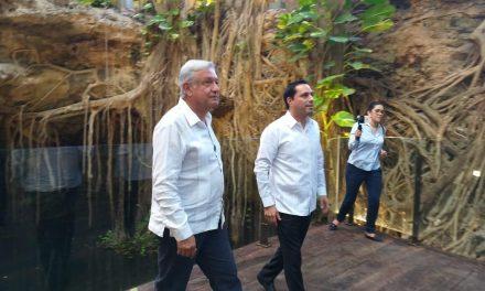 Se adelantan AMLO y Vila a Tercera Reunión sobre Tren Maya