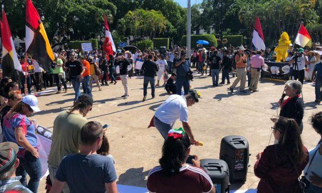 Retoman pueblos mayas lucha por libre determinación (video)