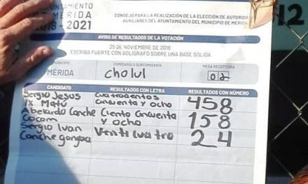 Esta es la lista de nuevos comisarios del municipio de Mérida