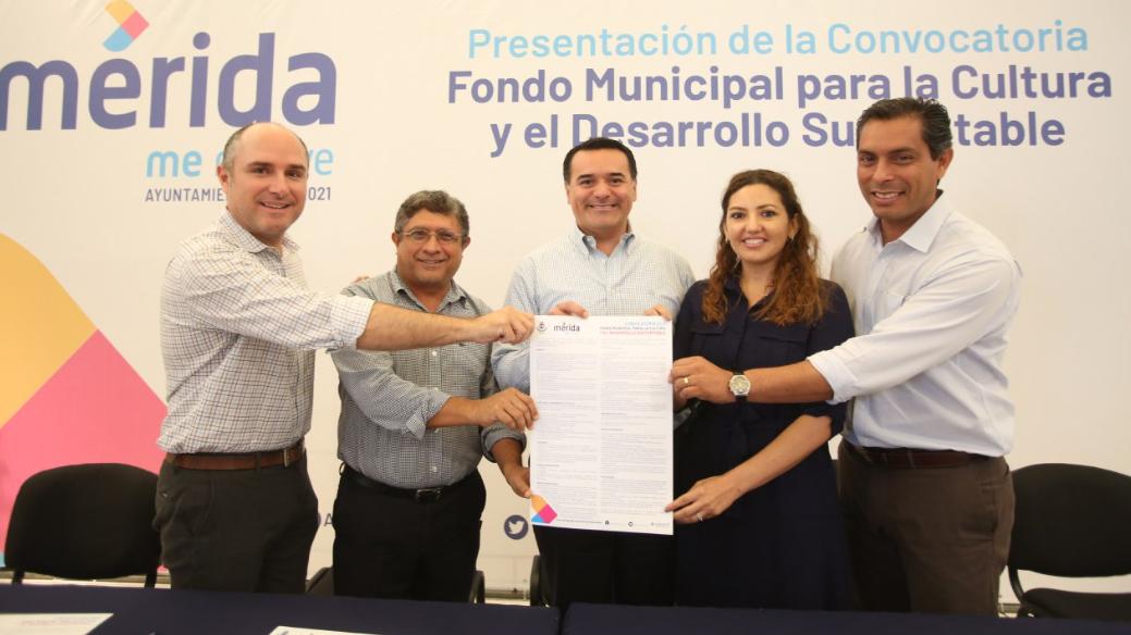Nuevo fondo en Mérida para desarrollo sustentable en cultura