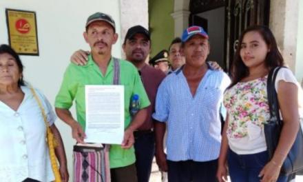 Luchan contra alcalde de Sudzal y la imposición de comisarios