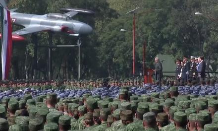 López Obrador, un mensaje con fuerzas armadas