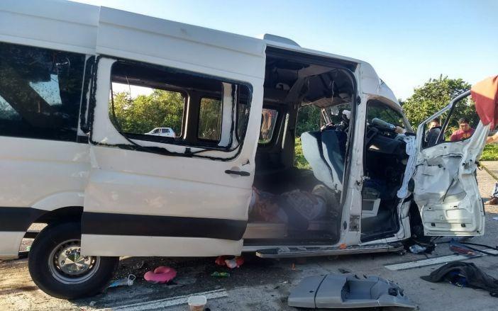 Carreterazo enluta a familias de Mérida, Yucatán: 6 muertos