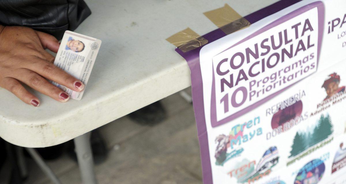 Instantáneas de la consulta en el sureste de México