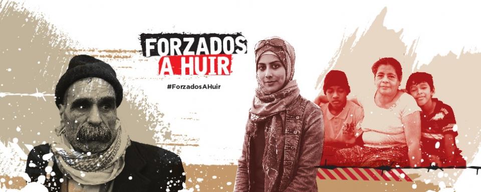 """""""Forzados a huir"""" expone las migraciones del mundo en Mérida"""
