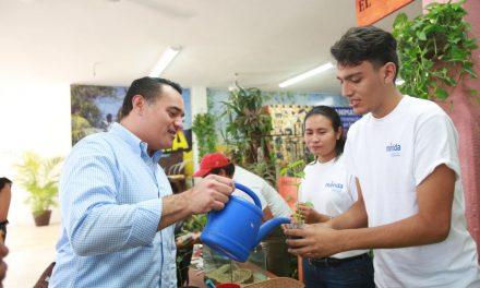 Ayuntamiento de Mérida  participa en la Feria de Xmatkuil
