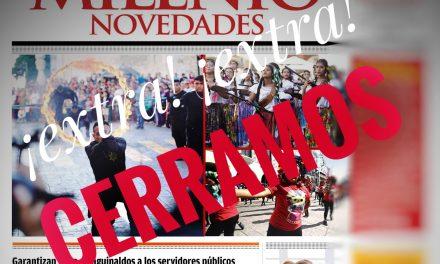 Desaparece el periódico Milenio Novedades: viene su <em>4ª transformación</em>