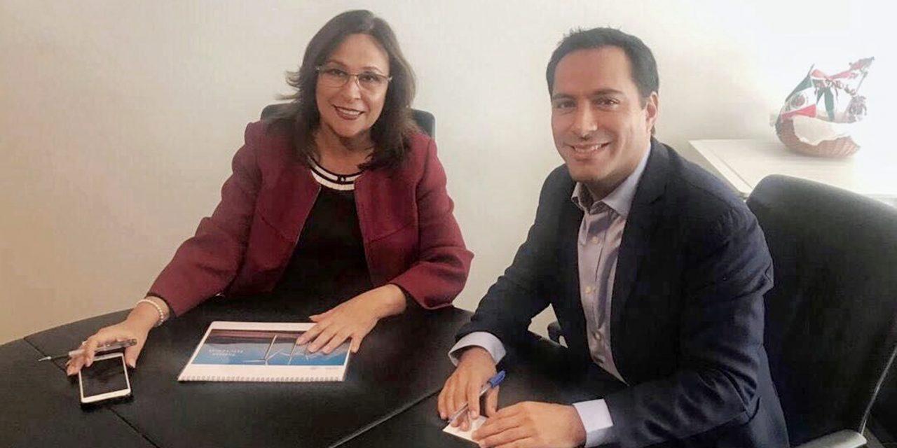 Vila intercede por tarifas eléctricas 'justas' ante próxima secretaria de Energía