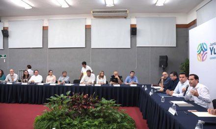 Gobierno Yucatán y Ayuntamiento Mérida establecen mesas de trabajo para conformar agenda  común