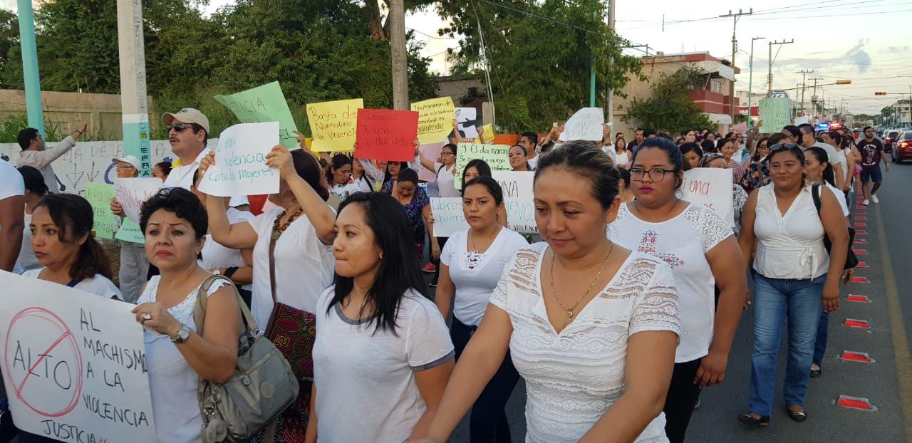 Condena y exigencia de justicia para Addisbel en Chetumal (video)
