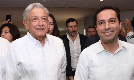 Recibe Vila a López Obrador