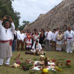 Claman 'anuencia' en Chichén Itzá para el Tren Maya