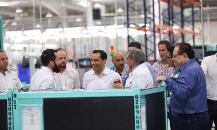 Manufacturera alemana construye segunda fábrica en Yucatán