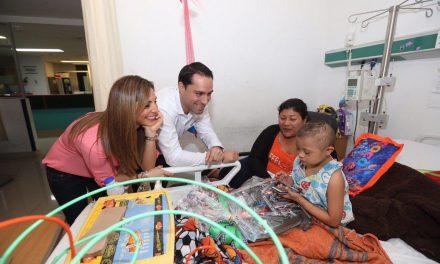 Una visita inesperada en Oncología Pediátrica del Hospital O'Horán