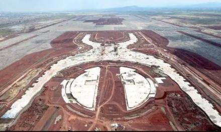 Seguirá construcción de aeropuerto Texcoco, hasta nueva evaluación