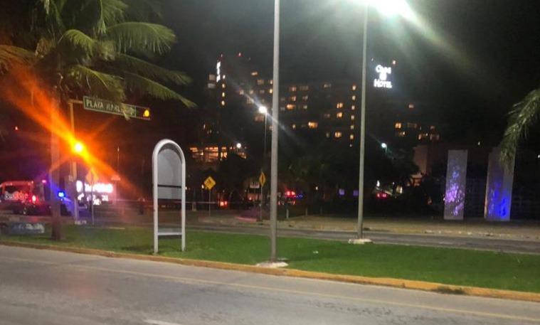 Balacera en Cancún con 1 ejecutado y tres lesionados
