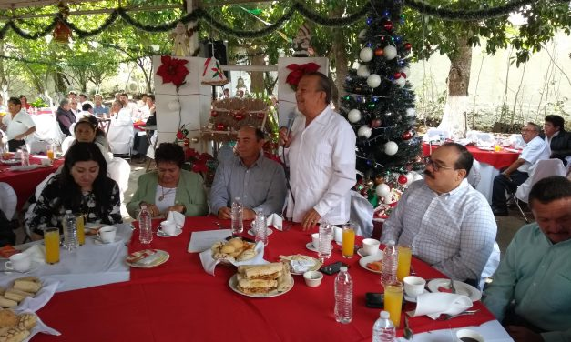 'AMLO ganó por la mier…' Da duro discurso Ramírez Marín en desayuno priista