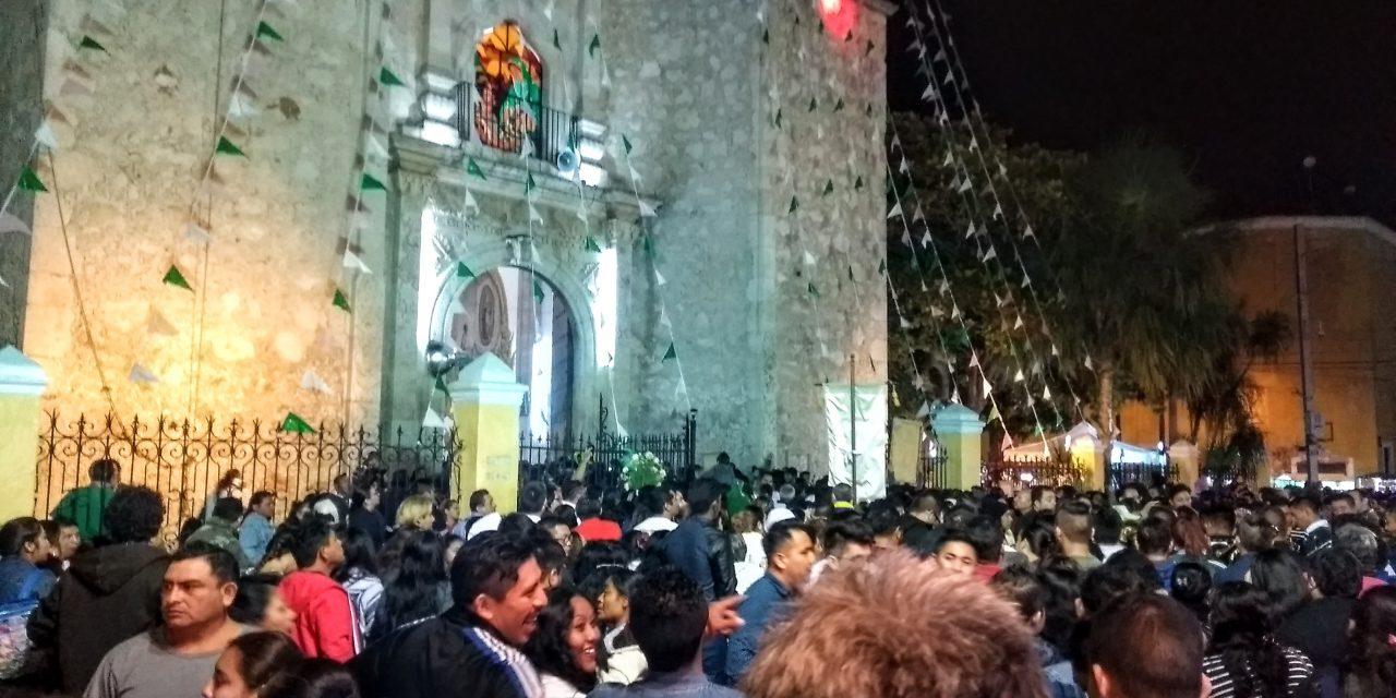 Devoción, comilona y fiesta a la Guadalupana (crónica-video)