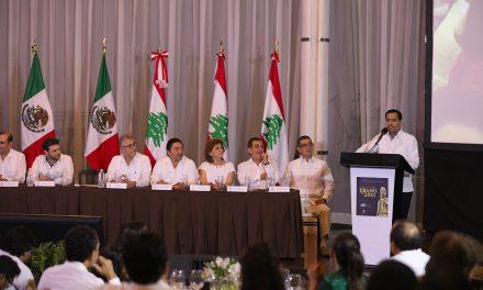 Trabajar unidos para impulsar a Yucatán.- Vila Dosal