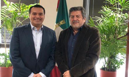 Lleva Renán Barrera proyectos a Fonatur y logra acuerdos iniciales
