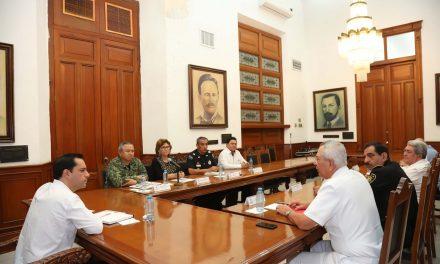 Instala Yucatán Mesa de Coordinación Estatal para la Construcción de la Paz