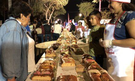 ¡Qué Rosca! Celebran a Mérida con 2.5 kilómetros del pan dulce