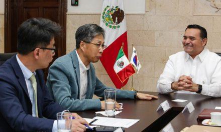 Mérida y Corea, por mayor relación cultural y educativa