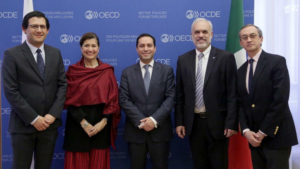 Acuerdo de Yucatán con OCDE para mejora regulatoria