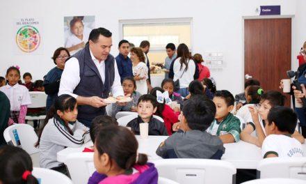 Nuevo comedor escolar para niños y familias del Sur de Mérida