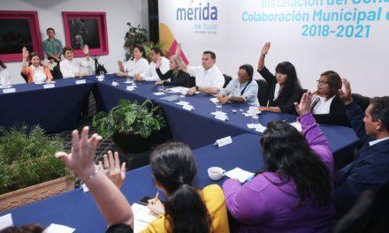 Instalado en Mérida Consejo de Colaboración Municipal de la Mujer