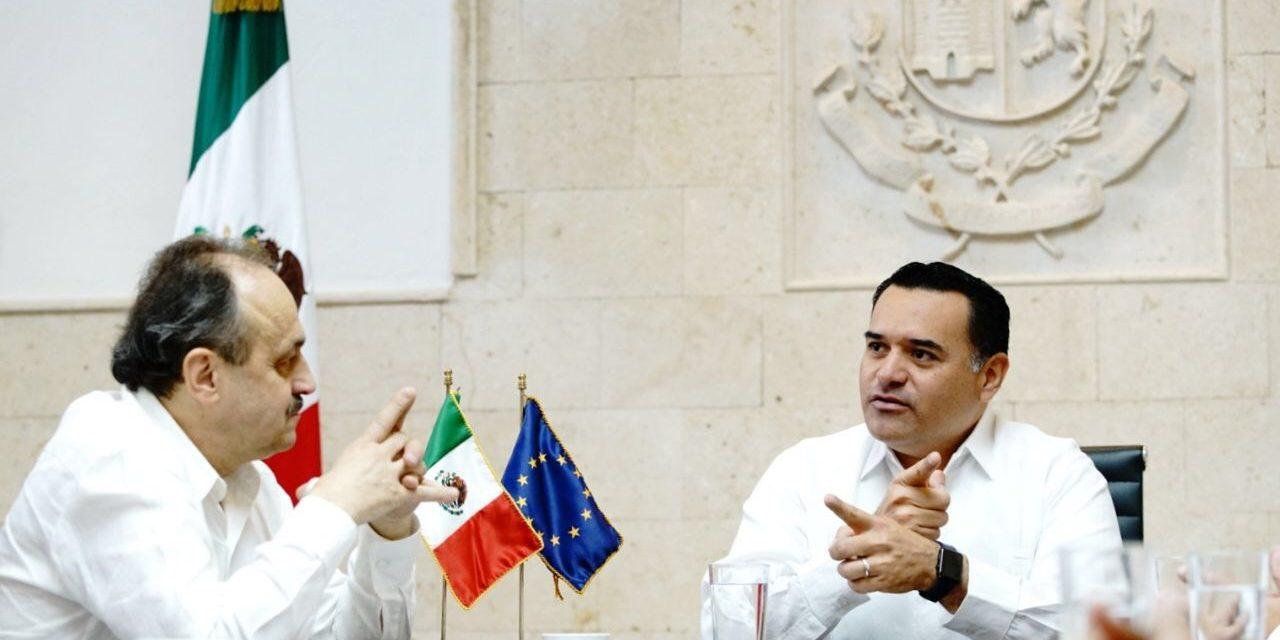 Unión Europea y Mérida por mayor colaboración en desarrollo sustentable