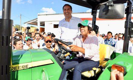 Apoyos por más de 45 mdp a productores del oriente de Yucatán