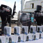 Embarcaciones, motores y equipo para pescadores yucatecos