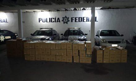 Interceptan 530 mil cigarrillos de procedencia extranjera