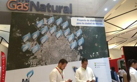 Tendrá Mérida suministro de gas natural a viviendas este año