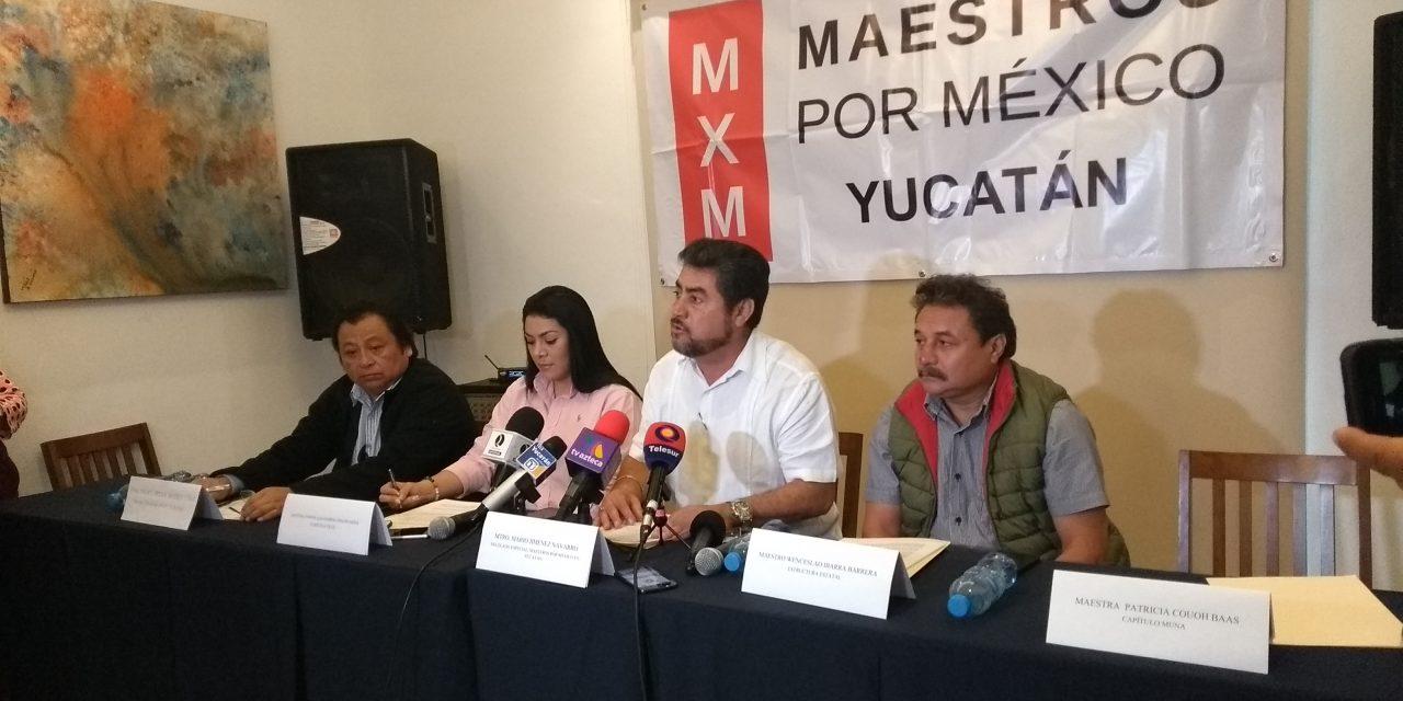 Condenan Maestros por México métodos de la CNTE (video)