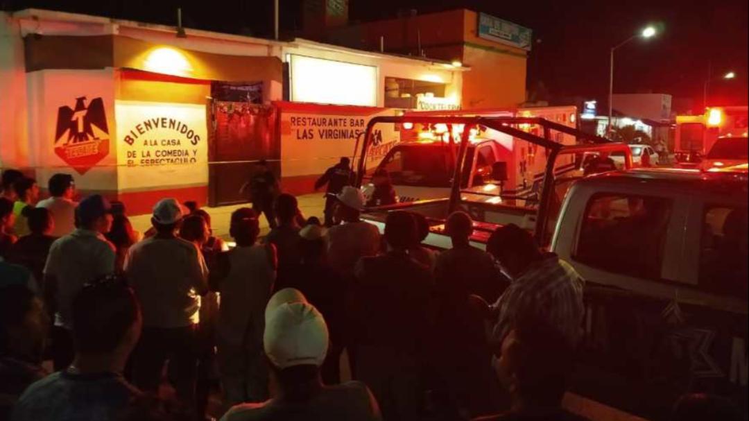 Ataque en bar de Playa del Carmen, con siete muertos