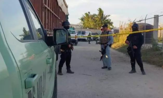 Bodega escondía combustible en la periferia de Mérida