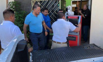 Guarda cajero automático robado… ¡En su casa!