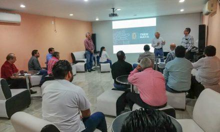 Detallan a constructores de Campeche etapas del Tren Maya