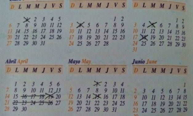 ¡Terminaron las vacaciones! No te estreses: te decimos qué días descansarás en 2019