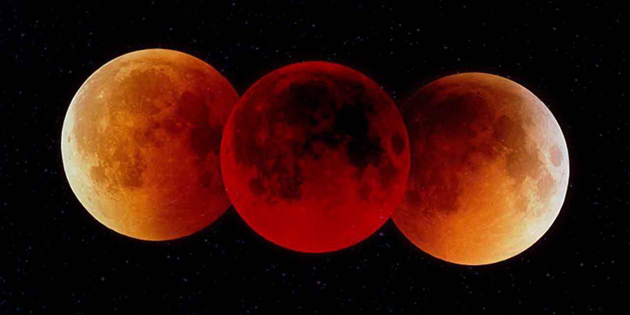 Único eclipse que verás en Yucatán en 2019 es de Luna 'de sangre', este domingo